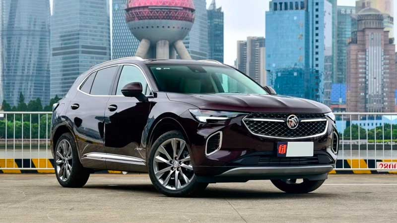 Кроссовер Buick Envision 2020-2021