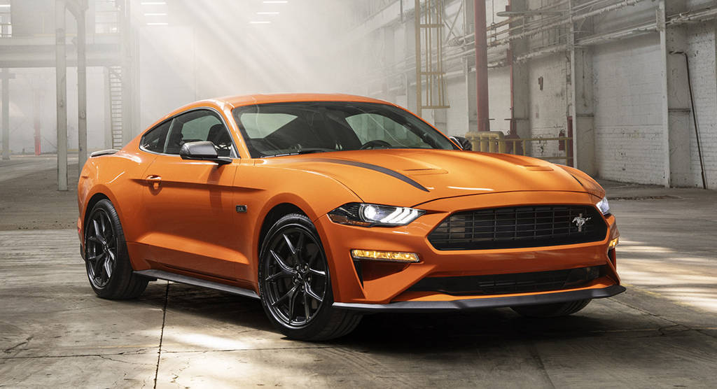 купе Ford Mustang High Performance 2019
