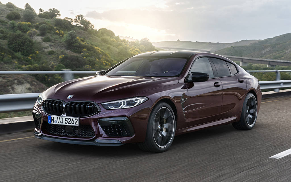 Седаны BMW M8 Gran Coupe и BMW M8 Competition Gran Coupe